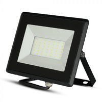 30W LED Reflektor SMD E-Series Black 6400K