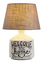 "PETRA Rabalux - stolná vintage lampa- ""WELCOME HOME\"" - 350mm"