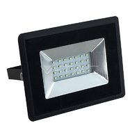 20W LED Reflektor SMD E-Series Black telo  4000K